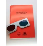 """Livro """"Tratamento da Fusão"""" J.B. Weiss - Exercícios + Oculos Bi-Cromáticos"""